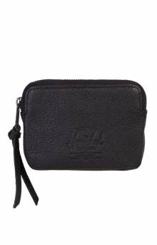 Oxford Wallet - Black Pebbled Leather