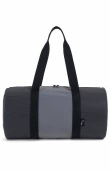 Packable Duffle Bag - Black/Silver Reflective