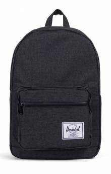 Pop Quiz Backpack - Black Crosshatch/Black