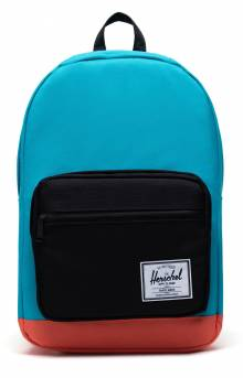 Pop Quiz Backpack - Blue Bird/Black/Emberglow