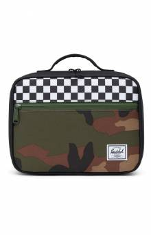 Pop Quiz Lunch Box - Black/Checker