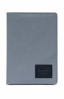 Raynor Passport Holder - Silver Reflective