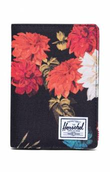 Raynor Passport Holder - Vintage Floral Black