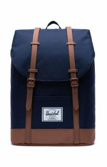 Retreat Backpack - Peacoat/Saddle Brown