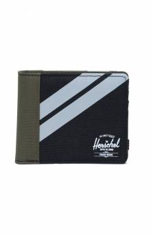 Roy Coin Wallet - Black/Ivy Green/Light Grey X