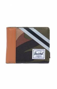 Roy Coin Wallet - Woodland Camo/Stripe Vapor/Black