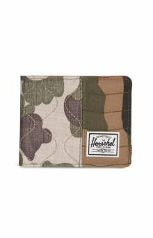 Roy Wallet - Woodland Camo/Vermillion Orange/Frog Camo