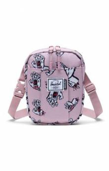 Santa Cruz Crossbody Bag - Pale Mauve Screaming Hand