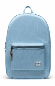 Settlement Backpack - Light Denim Crosshatch