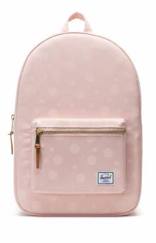 Settlement Backpack - Polka Cameo Rose