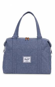 Strand Duffle Bag - Dark Chambray Crosshatch