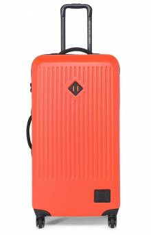 Trade Large Hardshell Luggage - Vermillion Orange