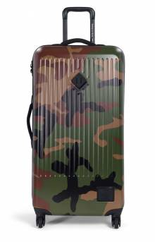 Trade Large Hardshell Luggage - Woodland Camo