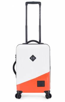 Trade Luggage Power Small - White/Vermillion Orange