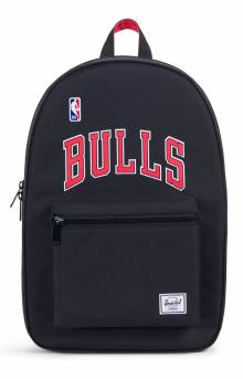 Settlement NBA Superfan Backpack - Bulls/Black