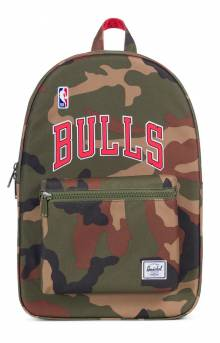 Settlement NBA Superfan Backpack - Bulls/Camo