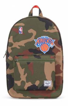Settlement NBA Superfan Backpack - Knicks/Camo