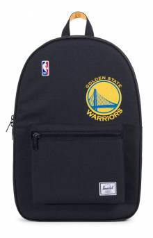 Settlement NBA Superfan Backpack - Warriors/Black