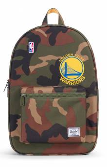 Settlement NBA Superfan Backpack - Warriors/Camo