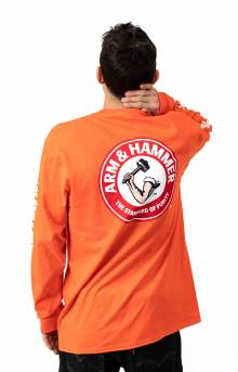 Arm & Hammer Gold Seal L/S Shirt - Orange