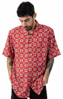 Atelier Resort Button-Up Shirt - Red