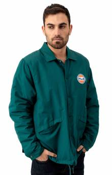 Bakers Coaches Jacket - Botanical Green