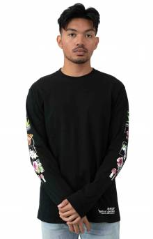 Botanical Garden L/S Shirt - Black