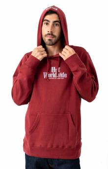 Burn Fast Pullover Hoodie - Red Pear