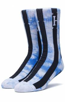 DBC WC Bad Referee Tie-Dye Socks - Powder Blue