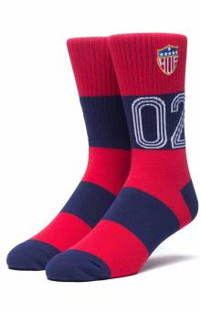DBC WC Play Maker Socks - Red