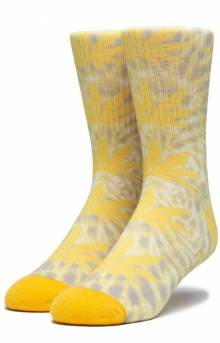 Digital Dye Plantlife Sock - Aurora Yellow