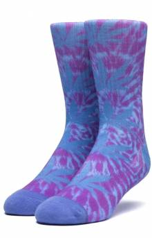 Digital Dye Plantlife Sock - Blue Iris