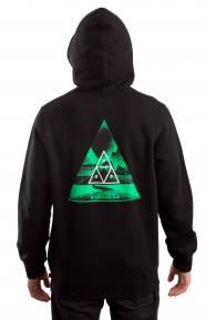 Dimensions Triangle Pullover Hoodie - Black