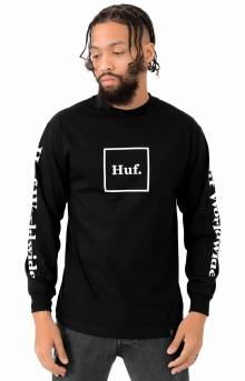 Huf, Domestic L/S Shirt - Black