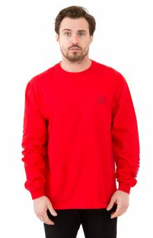 Domestic L/S Shirt - Red