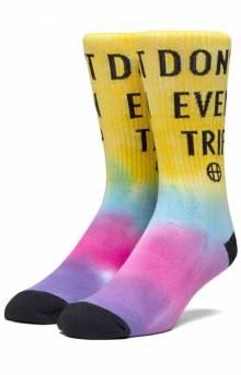 Don't Trip Socks - Blazing Yellow