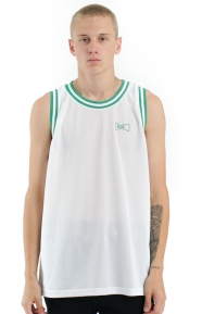 Drink Up Basketball Jersey - White