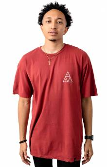 Dystopia TT T-Shirt - Rose Wood Red
