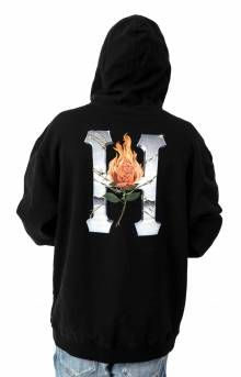 Ember Rose Classic H Pullover Hoodie - Black