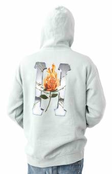 Ember Rose Classic H Pullover Hoodie - Cloud Blue