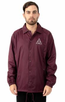 Essentials Triple Triangle Coaches Jacket - Port Royale