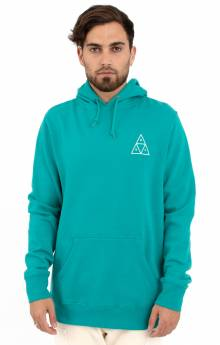 Essentials Triple Triangle Pullover Hoodie - Tropical Green