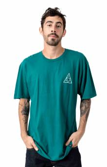 Essentials Triple Triangle T-Shirt - Quetzal Green