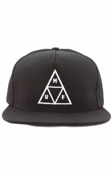 Essentials TT Snap-back Hat - Black