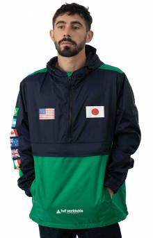Flags Anorak Jacket - French Navy