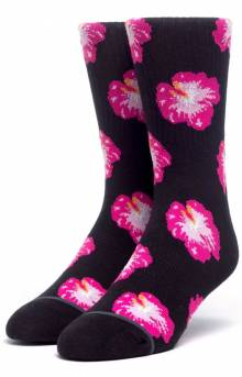 Flower Shop Sock - Black