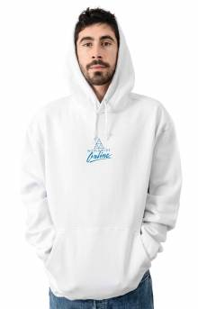 Forbidden Domain Pullover Hoodie - White