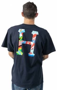 Global Trip Classic H T-Shirt - French Navy