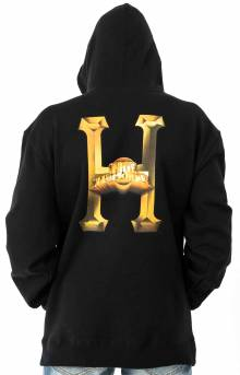Greatest Hits Classic H Pullover Hoodie - Black