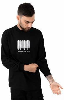 Linear L/S Shirt - Black